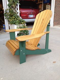 These free Adirondack chair plans will help you build a great looking chair in just a few hours. It will look great on your deck, porch, or yard.