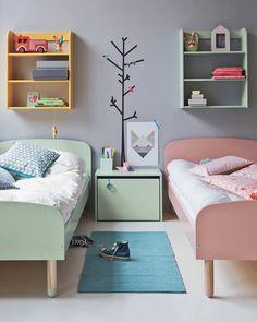 80 Charming Shared Kids Room Design Ideas For Your Children Childrens Bedroom Decor, Childrens Rooms, Shared Bedrooms, Boy Bedrooms, Boy Girl Bedroom, Girl Bedding, Bedding Decor, Nursery Bedding, Bedding Sets