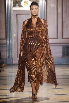 Sophie Theallet Fall 2016 Ready-to-Wear Fashion Show Fall Fashion 2016, Runway Fashion, High Fashion, Fashion Show, Fashion Fashion, Fashion Weeks, Sophie Theallet, Transgender Model, African Inspired Fashion