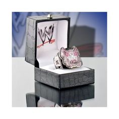WWE Divas Championship Belt Replica Finger Ring (Womens Size)
