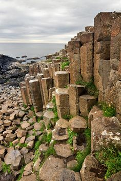 Giant's Causeway in Northern Ireland, it's amazing how the rocks naturally formed!