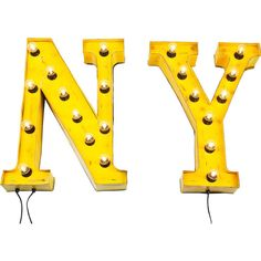 New York 'NY' Vintage Wall Light by I Love Retro, the perfect gift for Explore more unique gifts in our curated marketplace. Chinoiserie, Statues, Objet Deco Design, Innovation Living, Neon Words, Vintage Wall Lights, Light Letters, Vintage New York, Vintage Style