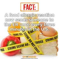 Without GMO labeling we do not know what reactions or allergies are related. We need transparency and accountability.  #‎GMOs #‎food #‎allergies