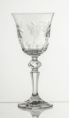 Crystal Goblet Grape Cut – Gifts by Kasia