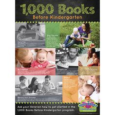 Upstart and 1000 Books Foundation Team Up to Promote Parent Engagement and 1000 Books Before Kindergarten Early Literacy Program Sensory Activities, Activities For Kids, 1000 Books Before Kindergarten, Lending Library, Library Art, Literacy Programs, Reading At Home, Parents As Teachers, Early Literacy