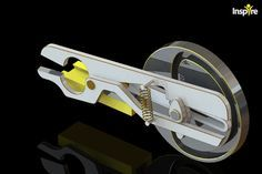 Cam-Driven Scissors