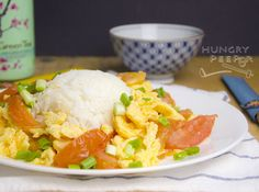 Chinese Stir-Fried Tomatoes and Egg