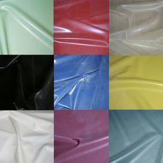 Sheet Latex/Rubber by Continuous Metre - 1m Width, 0.25mm Gauge - 10 Colours   eBay