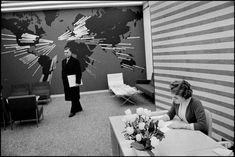 NEW YORK CITY—Madison Avenue. The McCann Erickson advertising agency, 1959.