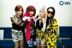 2NE1 KPOP Bom Minzy Dara CL