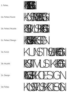 New Logo and Identity for Fakultet for kunst, musikk og design, UiB, by Uniform