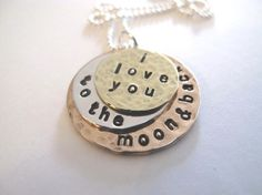 I love you to the moon and back...