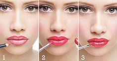 Como pintar labios poco definidos