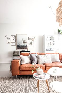 Minimalistic, rustic home decor | living room ideas | interiors | sofa styling