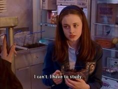BEING A DIETETICS MAJOR AS TOLD BY GILMORE GIRLS