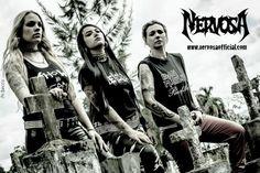 HeadbangerVoice: Nervosa: anunciados planos de gravação do 2º disco...