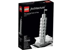 LEGO Architecture Leaning Tower Of Pisa Building Set $29.99 (walmart.com)