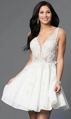 107 Best Short Reception Wedding Dresses Images Wedding