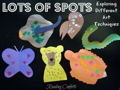 Lots of Spots activities for the book by Lois Ehlert