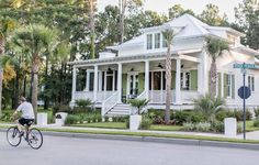 Low Country Living in Habersham, South Carolina: A Southern Living Inspired Community house plans low country Low Country Homes, Southern Homes, Coastal Homes, Southern Charm, Southern Cottage, Southern Living House Plans, Country House Plans, Country Living, Beach House Plans