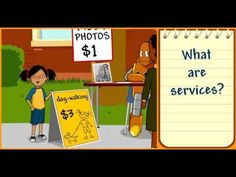 Goods and Services - Economics - Social Studies Supple and Demand