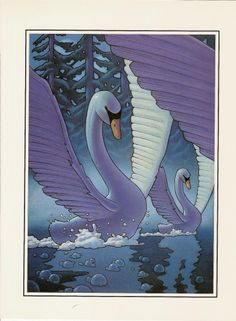 ♠ The Moonlight Dance of the Swans by Chris Van Allsburg ♠