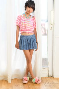 Young Japanese Girls, Beautiful Japanese Girl, Beautiful Little Girls, Cute Little Girls, Young Girl Fashion, Preteen Girls Fashion, Kids Outfits Girls, Cute Girl Outfits, Little Girl Models
