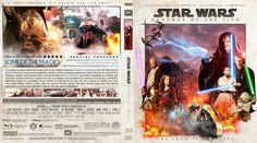 Star Wars: Episode III - Revenge Of The Sith Blu-ray Custom Cover
