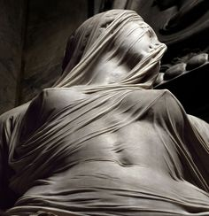 """Veiled truth"" is one of the masterpieces of Venetian sculptor Antonio Corradini (1688-1752), which he created for Naple's Cappella Sansevero (formally known as Chapel of Santa Maria della Pietà, and nicknamed by the locals ""Pietatella"")."