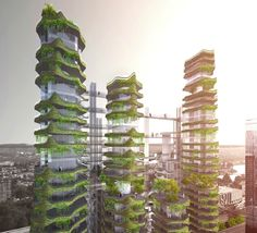 MAD Architects unveil futuristic Cloud Corridor skyscrapers for Los Angeles | Inhabitat - Sustainable Design Innovation, Eco Architecture, Green Building