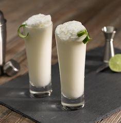 Enjoy Ramón Fizz, a cocktail made with @Patrón Reposado.
