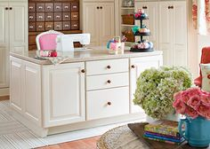 sewing room designs and layouts | ideas for a sewing room organize your sewing room decorating ideas ...