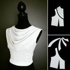 ✂✂✂✂✂✂✂✂ #шьюсама #nellytrines #isew #naaien #nähen #sewingblogger #fabricmanipulation #desing #pattern #patternmaking #draping #dressmaker #sewing #люблюшить #шитьё #sewingideas #origami