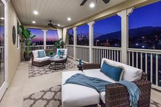 Camellia at Rosedale - new homes in Azusa - plan 3 - deck