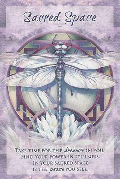"""Sacred Space"" Magical Times Empowerment Cards par Jody Bergsma"