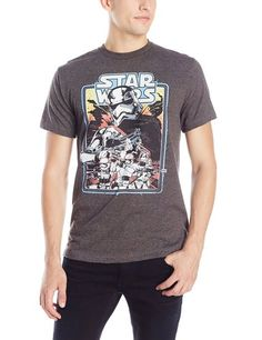 Star Wars Men's The Force Awakens Clothing Infantry Line Captain Phasma Trooper T-Shirt