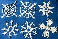 Dr. Who Snowflake pattern PDFs. Whoa.