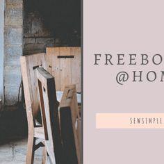 @Home: Freebooks, Schnittmuster und Anleitungen