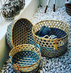 Baskets Decor & Door Stopper Summer Decoration, Basket Decoration, Door Stopper, Laundry Basket, Wicker, Baskets, Tableware, Shop, Home Decor