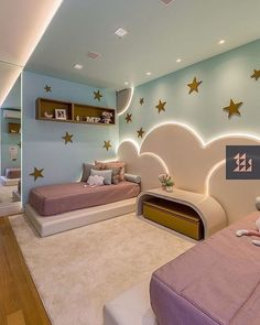 34 Outstanding Kids Bedroom Design Ideas That Your Kids Will Like It Kids Bedroom Designs, Room Design Bedroom, Bedroom Furniture Design, Room Ideas Bedroom, Baby Room Decor, Bedroom Decor, Theme Bedrooms, Small Room Design, Kids Room Design
