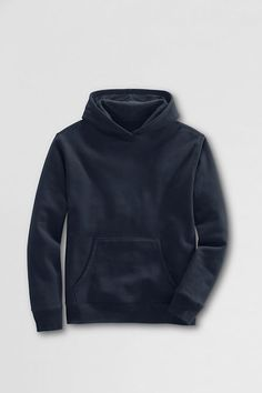 Men's Hooded Pullover Sweatshirt from Lands' End