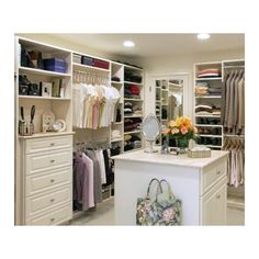 WALK-IN-CLOSET ❤ liked on Polyvore