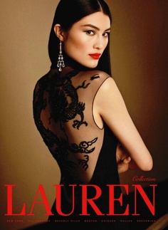 Sui He Ralph Lauren FW 2011. #fashion #model #ad