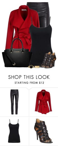 """""""Untitled #494"""" by denise-schmeltzer ❤ liked on Polyvore featuring Joseph, BGN, Nine West, MICHAEL Michael Kors, Caravelle by Bulova and Marc by Marc Jacobs"""