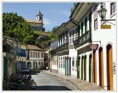 Minas Gerais State, Brazil, Vila Rica do Ouro Preto (Baraque Architecture)