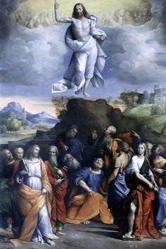 The Athenaeum - The Ascension of Christ (Il Garofalo - )