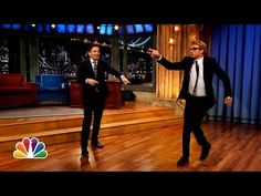 ▶ Simon Baker and Jimmy Fallon's Mick-Off - YouTube