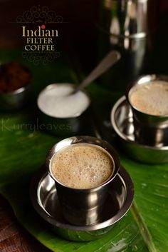 Indian Filter Coffee | Step by step recipe |