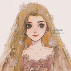Disney Princess Drawings, Disney Princess Art, Princess Rapunzel, Disney Drawings, Rapunzel Story, Disney Cartoons, Disney Movies, Disney Characters, Disney Princesses