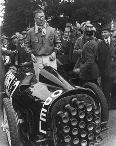 Fritz Von Opel and his Rocket Car